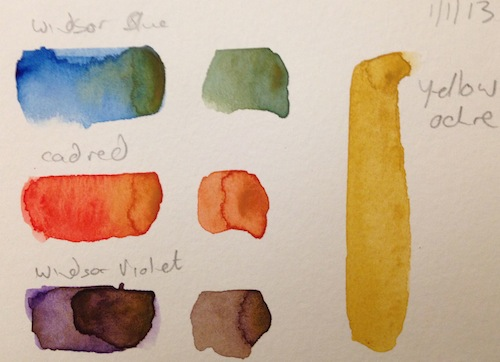 Watercolour Exercise 2