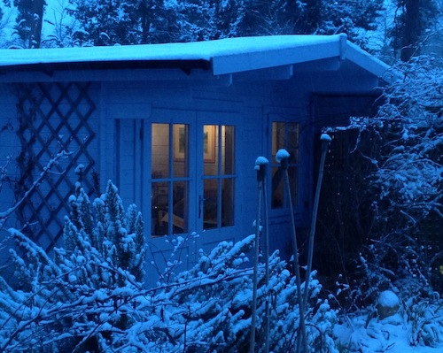 Studio in the snow