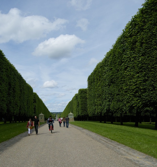 Versaille: Hedges made from Trees, and walkways that go to the horizon.