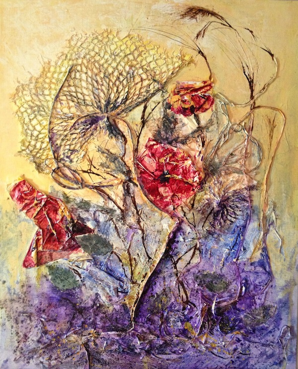 Meadow Flowers (Mixed Media 40cm x 50cm)