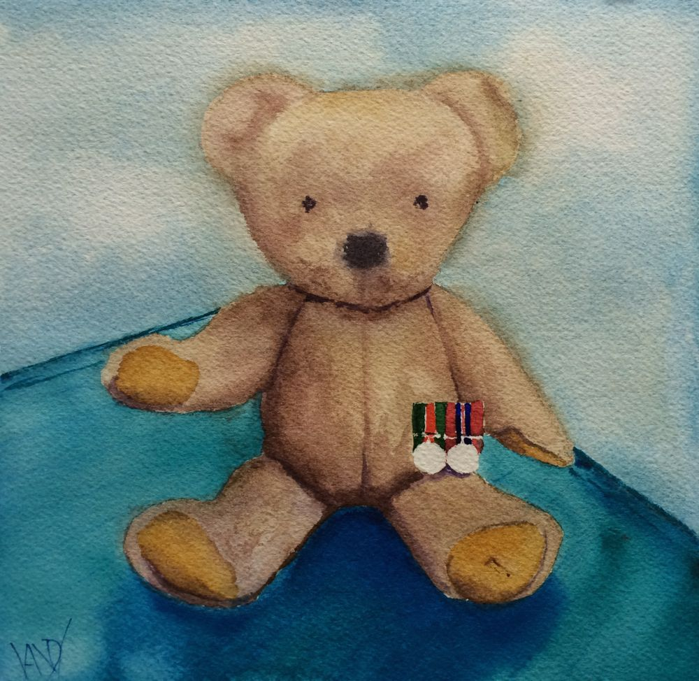 Fred Ted's military medals
