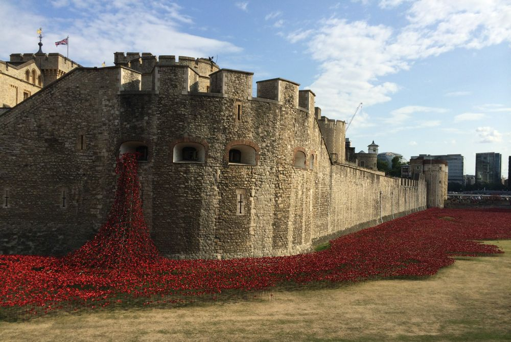 Tower of London 4th August 2014. Lest We forget
