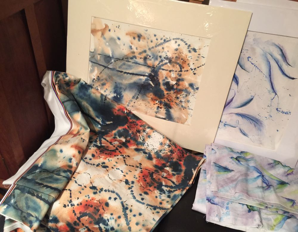 Wearable watercolours