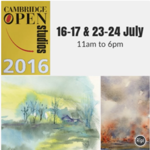 Joining over 300 other Cambridge Open Studios artists
