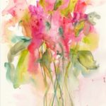 Joy. Watercolour by Vandy Massey