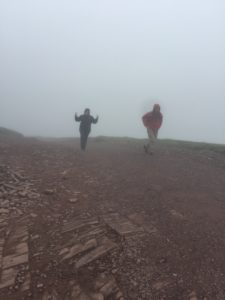 Hiking Pen y Fan in June 2018